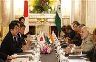 Japan pledges USD 35 rpt 35 bn for infrastructure projects