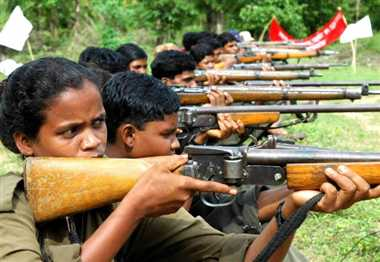 naxals giving training to childrens