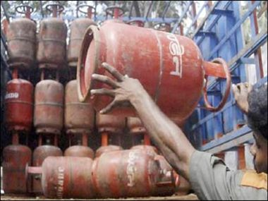 without subsidized lpg cylinder expensive