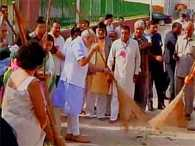 pm modi in augurates clean india mission