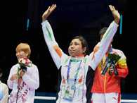 Olympic Gold Quest gives 10 lakh rupees to Sarita Devi