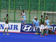 India defeat Pakistan and win gold as well Olympic ticket