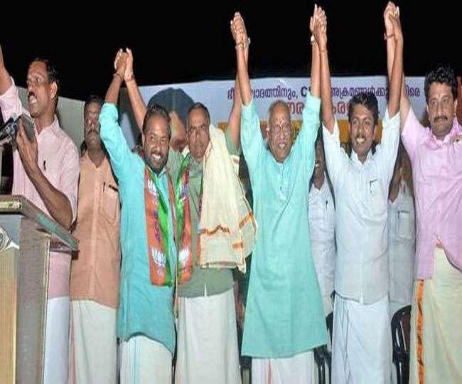 नोटबंदी के विरोध में CPIM में शामिल हुए RSS नेता ने की घर वापसी