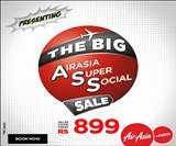 एयर एशिया लाया धमाकेदार ऑफर, सिर्फ 899 रुपये में कीजिए हवाई सफर