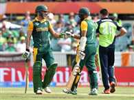 South Africa post 412 runs target against Ireland