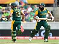 Amla and du Plessis register biggest second wicket partnership for South Africa in WC history