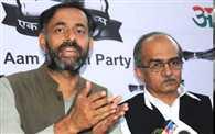 Had rejected Kejriwal's resignation as AAP chief: Yogendra Yadav