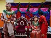 Kathmandu wedding shows life goes on in Nepal after earthquake