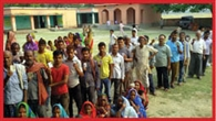 55 and 54 per cent had voted in Jalalpur Bniapur