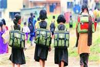 100 girls left school by fear of rape
