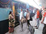 Kalka-Katra train went at Jalandhar Cantt station instead of City