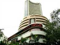 Sensex today fell further by over 122 points
