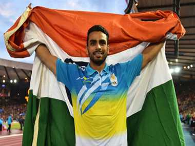 Arpinder wins third medal for India in CWG 2014 Athletics