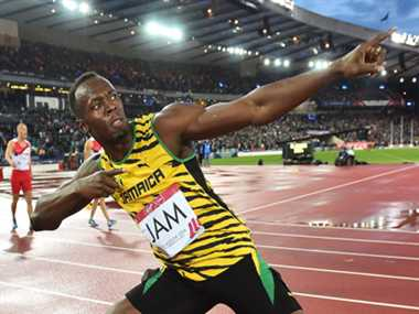 Bolt powers Jamaica to Commonwealth Games mens Relay Gold