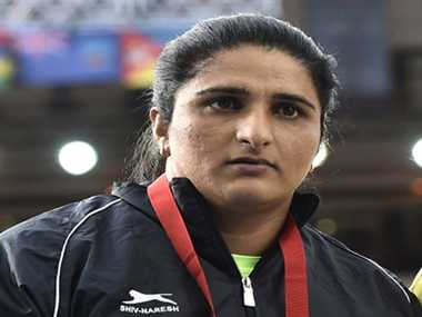 Seema Punia to be the Indian flag bearer in CWG closing ceremony at Hampden Park