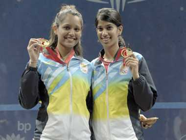CM Jayalalithaa announces Rs.50 lakh each for Squash doubles gold winner at CWG 2014