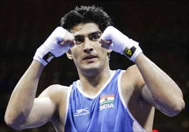 medal is birthday gift to my son: vijendar