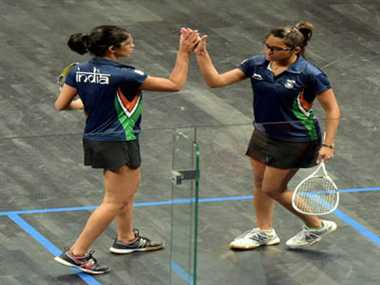 Joshana and Dipika win gold, give India first squash medal in CWG