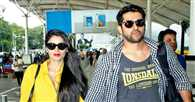 Spotted: Aftab Shivdasani and his wife Nin Dusanj