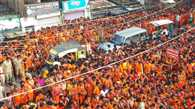 First Monday of Holy month savan today, huge Crowd gathered at shiva temples