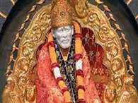 oblations of 3.8 crore to Sai Baba on Guru Purnima