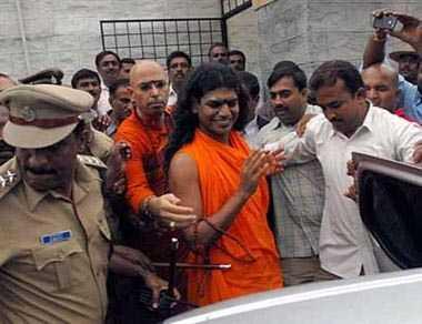 SC dismisses controversial godman Nithyananda's plea