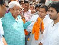 Modi govt. failed on boarder, forced its full power in Bihar : Lalu