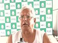 Lalu says Hindus also eat cow's meat, retracts after Giriraj threat