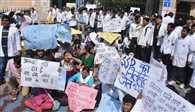 Strike Of Doctors Continue In UP