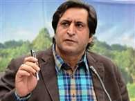 Sajjad Lone 'unhappy' with low-key portfolios, may refuse to take charge