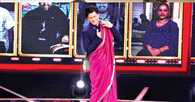 Why is Shah Rukh Khan draped in a saree?