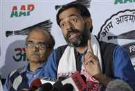 AAP's national executive meeting underway, kejriwal Stays away from meet