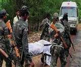 नक्सली हमला में दो जवान शहीद, दो घायल