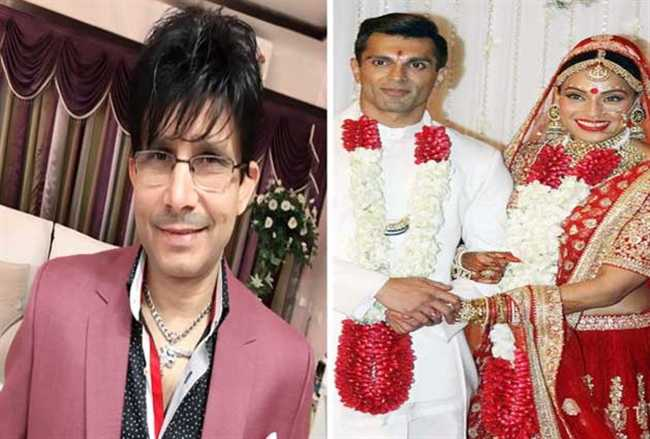 KRK tweet on Bipasha Basu husband Karan Singh Grover
