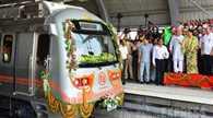 Metro operation begins in Jaipur