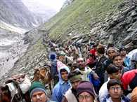 Baba Amarnath Yatra pilgrims 1200-1200 will both travel route