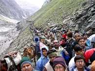 Baba Amarnath Yatra pilgrims 1200-1200 will both travel route