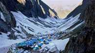 more than Eighteen thousand Pilgrims pay obeisance to amarnath