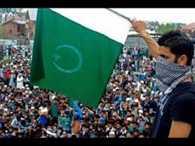 Pakistani flag waved again in srinagar