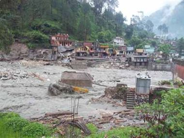 Heavy rains create havoc in U'Khand, Chardham Yatra suspended