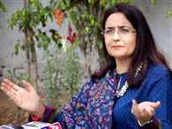 ' war of words ' begin again between Kiran Chaudhary and Dharmbir