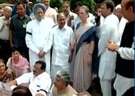 congress protest against suspension of 25 Congress