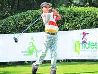 son of milkman from Haryana returns back home aftr winning 2nd Junior World Golf title