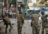 Violence in Hazaribagh, a dozen injured