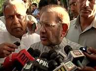 Meeting with mulayam ends, sharad said, save the grand alliance