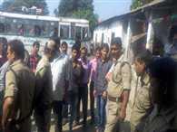 Fight between BJP leader and roadways worker