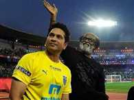 Mr. Rajnikanths enthusiasm was infectious at the ISL opening ceremony