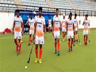 Indian junior hockey team's victory over New Zealand