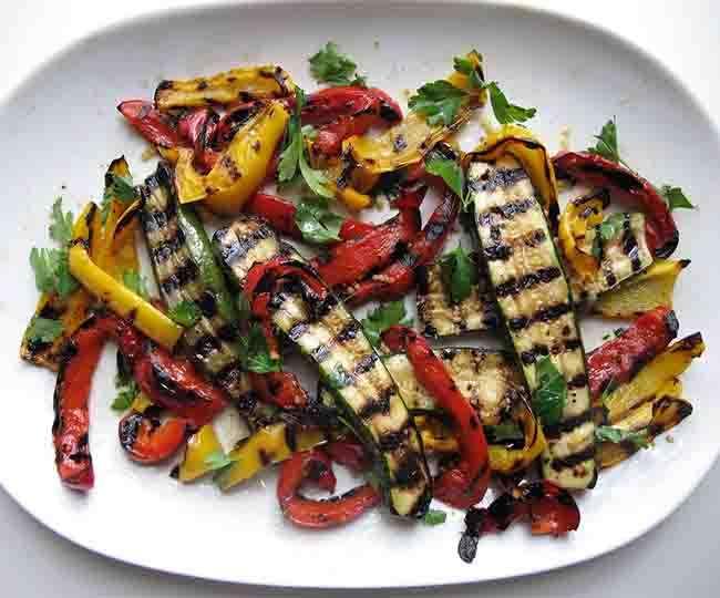 Make Katrina Kaif favorite food Grilled Vegetables