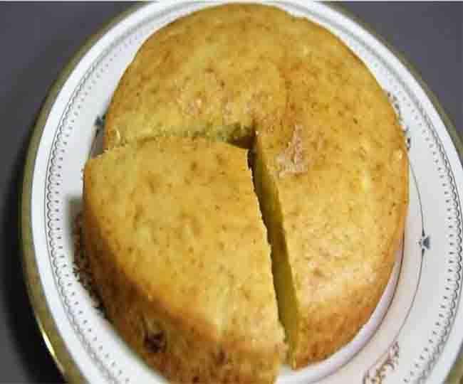 Make Mango cake on Birthday